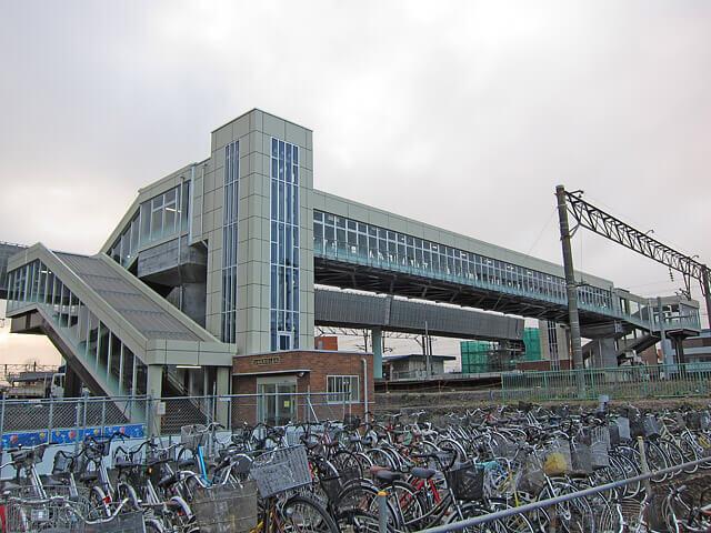 江別駅跨線人道橋(江別市)