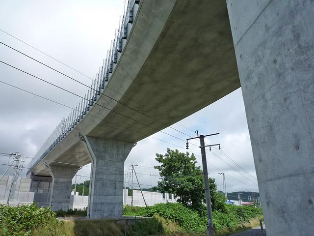 大平跨線橋(函館開発建設部)