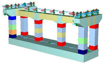 ファイバーモデルによる耐震解析