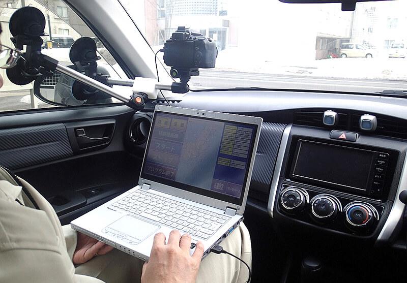 移動式定点観測カメラ
