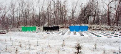 仮設防雪施設試験 全景-写真イメージ