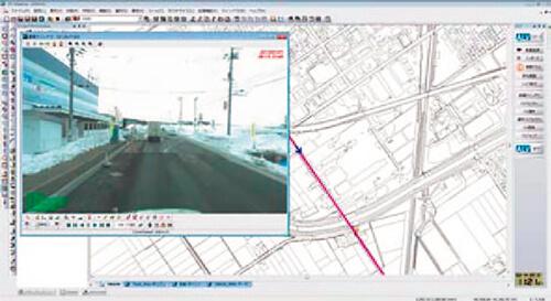 地図と映像の連動(GIS ソフトとの統合)
