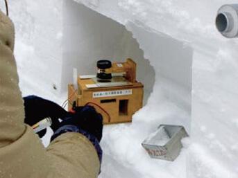 雪質・粒度観測