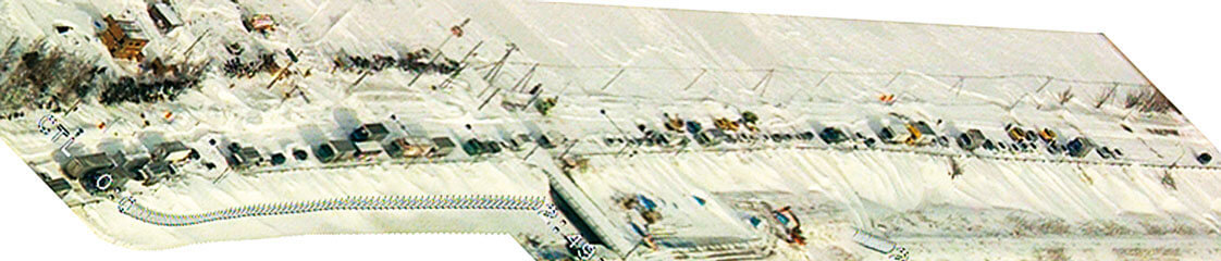 地吹雪状況・対策資料モザイク